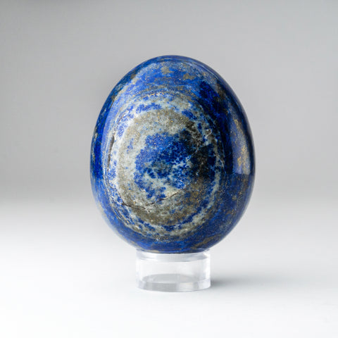 Polished Lapis Lazuli Egg from Afghanistan (2.75'', 347.5 grams)