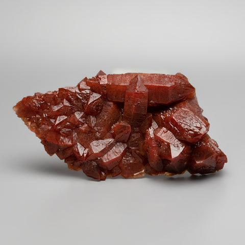 Red Quartz Hematite crystal cluster From Morocco (469.9 grams)