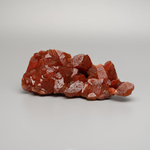 Red Quartz Hematite crystal cluster From Morocco (477.9 grams)