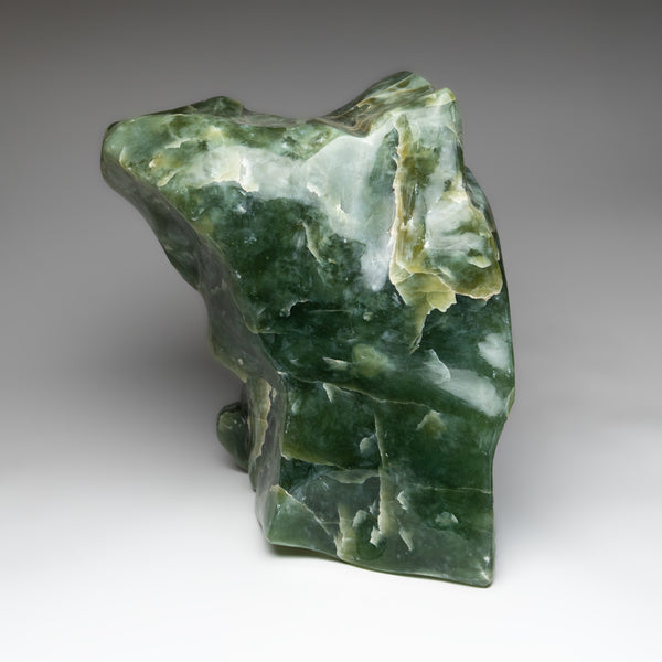 Polished Green Jade from Pakistan (45 lbs)
