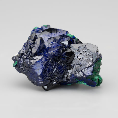 Azurite with Malachite From Milpillas Mine, Cuitaca, Sonora, Mexico (29.9 grams)