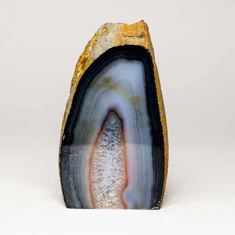 Blue Banded Agate from Brazil (1.5 lbs)