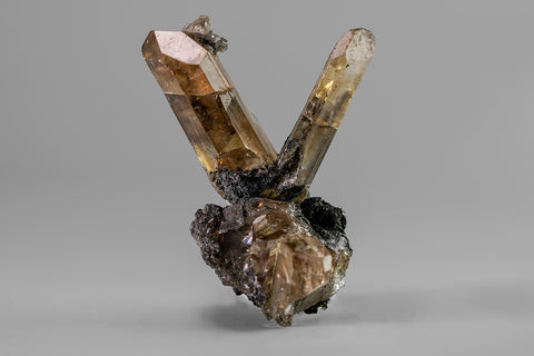 Cerussite (V Twin) from Tsumeb Mine, Otavi-Bergland District, Oshikoto, Namibia