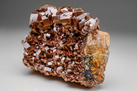 Vanadinite From Mibladen, Atlas Mountains, Khénifra Province, Morocco