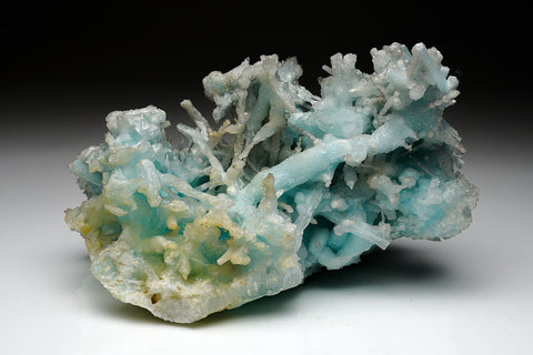 Blue Aragonite from Sicily, Italy