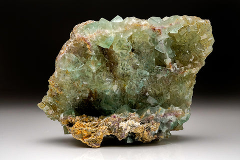 Green Fluorite From Xianghuapu, Linwu, Hunan, China