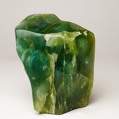 Polished Green Jade from Pakistan (4.5 lbs)