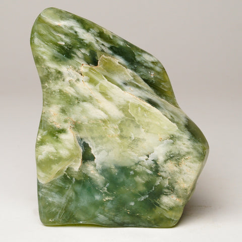 Polished Green Jade from Pakistan (2 lbs)