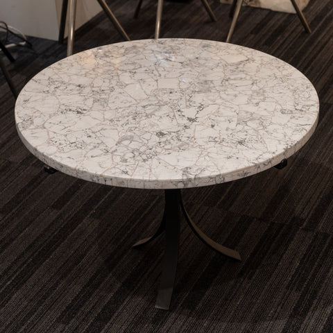 Large Polished Howlite Round Table Top