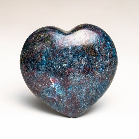 Ruby with Kyanite Polished Heart (264 grams)