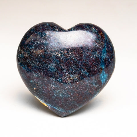 Ruby with Kyanite Polished Heart (316 grams)