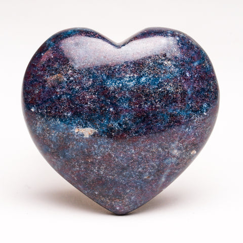 Ruby with Kyanite Polished Heart (204 grams)