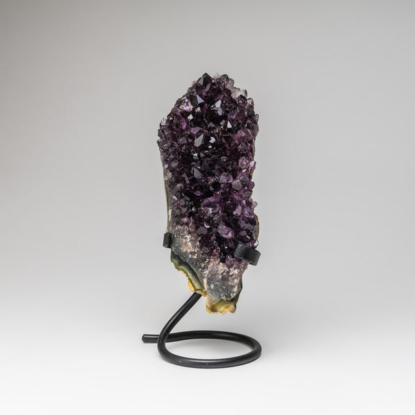 Amethyst Cluster on Stand from Brazil (4.5 lbs)