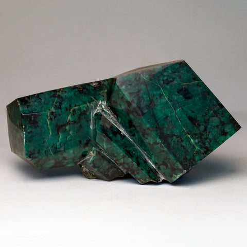 Polished Emerald In Quartz and Biotite Mica (6 lbs)