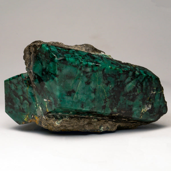 Polished Emerald In Quartz and Biotite Mica (9.5 lbs)
