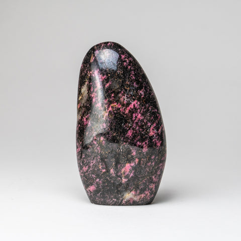 Polished Imperial Rhodonite Freeform from Madagascar (3 lbs)
