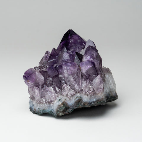 Amethyst Quartz Crystal Cluster from Brazil (2 lbs)