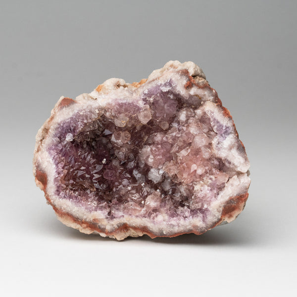 Pink Amethyst Geode Cluster from Neuquén Argentina (268.2 grams)