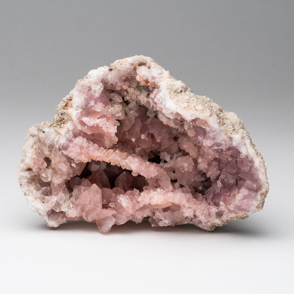 Pink Amethyst Geode Cluster from Neuquén Argentina (330.8 grams)