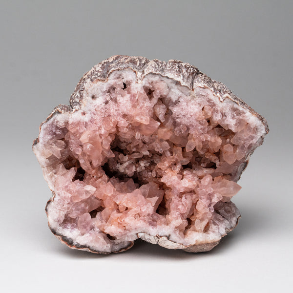 Pink Amethyst Geode Cluster from Neuquén Argentina (420.3 grams)