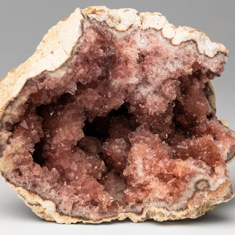 Pink Amethyst Geode Cluster from Neuquén Argentina (294.9 grams)