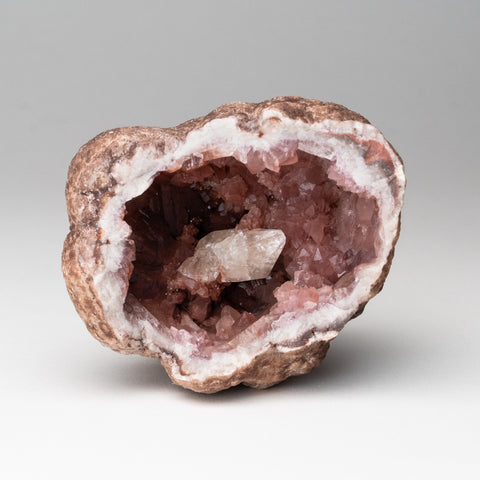 Pink Amethyst Geode Cluster from Neuquén Argentina (296.8 grams)