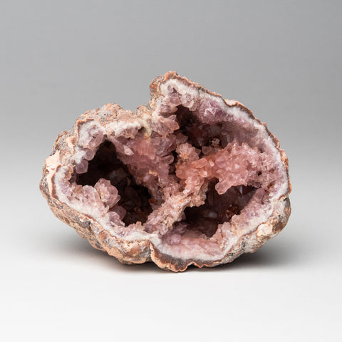 Pink Amethyst Geode Cluster from Neuquén Argentina (265.4 grams)