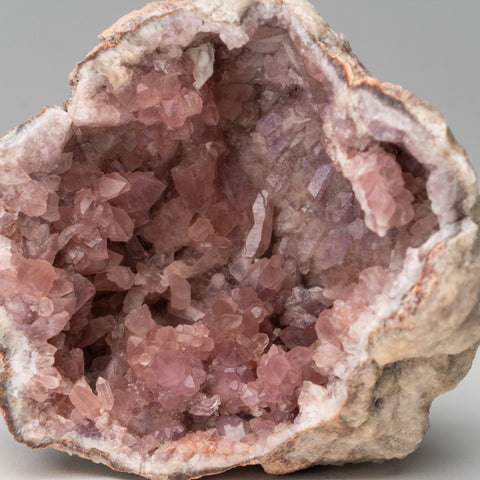 Pink Amethyst Geode Cluster from Neuquén Argentina (237 grams)