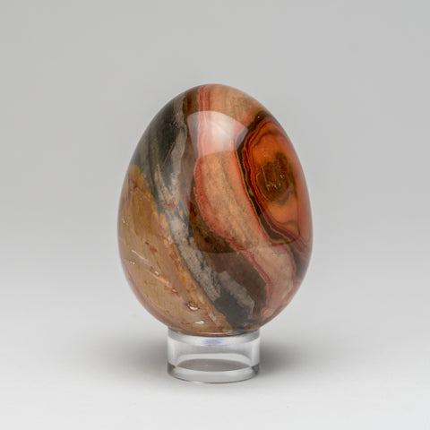 Polished Polychrome Egg from Madagascar (256 grams)