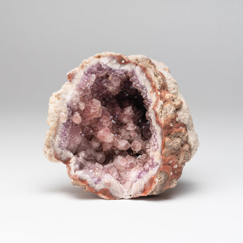 Pink Amethyst Geode Cluster from Neuquén Argentina (1.3 lbs)