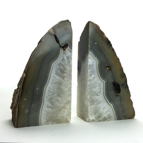 Agate Bookends (8.5 lbs) - Astro Gallery