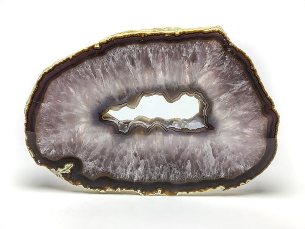 Large Brazilian Banded Agate Slice - Astro Gallery