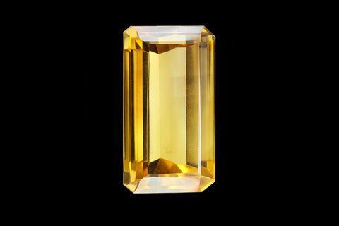 62.35 ct Citrine Emerald 31mm - Astro Gallery
