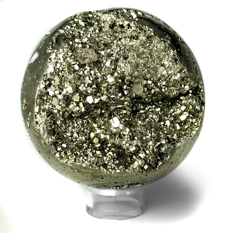 Polished Pyrite Sphere