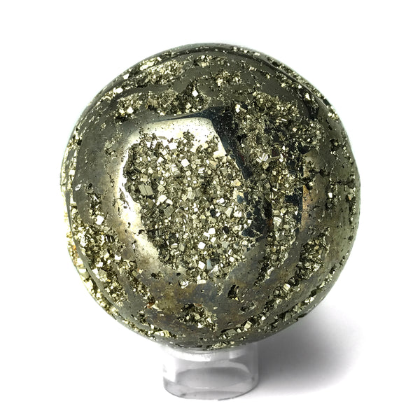 Polished Pyrite Sphere - Astro Gallery