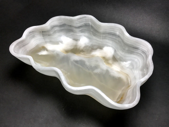 Large Banded Onyx Free form Bowl (32 lbs) - Astro Gallery