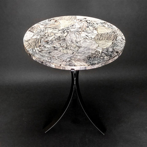 Picasso Jasper Round Table - Astro Gallery