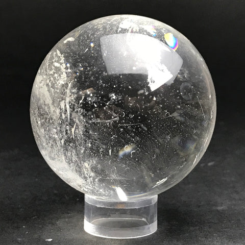 "Polished Clear Quartz Sphere From Brazil (2.4"") - Astro Gallery"