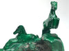 Malachite Horses Carving - Astro Gallery