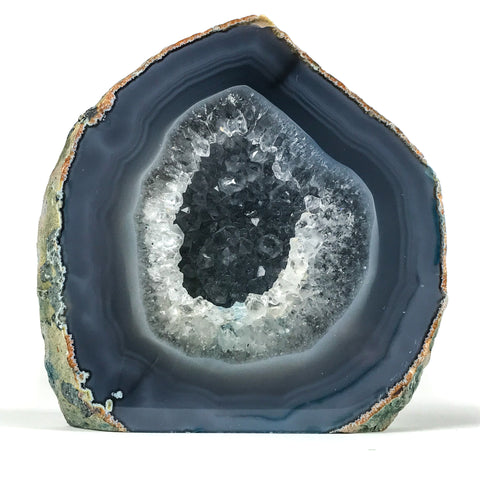 Banded Agate Geode From Brazil (4 lbs)