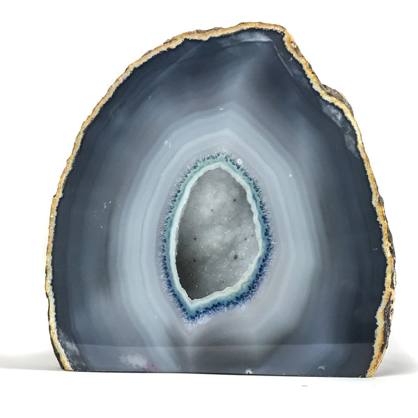 Banded Agate Geode From Brazil (10.5 lbs)