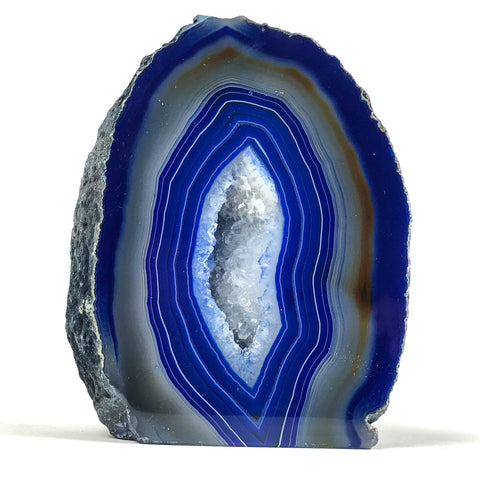 Banded Agate Geode From Brazil (3 lbs)