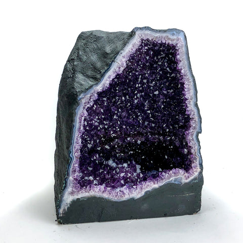 "12"" Amethyst Cluster Geode From Brazil - Astro Gallery"