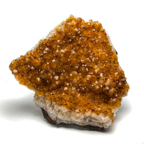Citrine Quartz Crystal Cluster From Brazil (11 lbs) - Astro Gallery