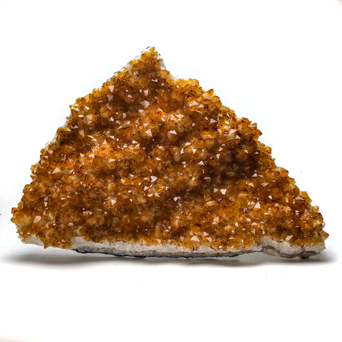 Citrine Quartz Crystal Cluster From Brazil (10 lbs) - Astro Gallery