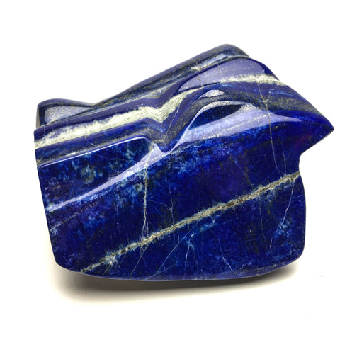 Polished Lapis Lazuli Freeform from Afghanistan (6.5 lbs) - Astro Gallery