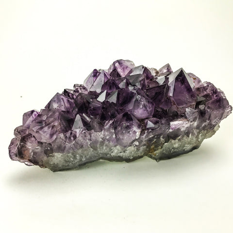 Amethyst Quartz Crystal Cluster from Brazil (2.5 lbs)
