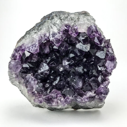 Amethyst Quartz Crystal Cluster from Brazil (4.5 lbs)