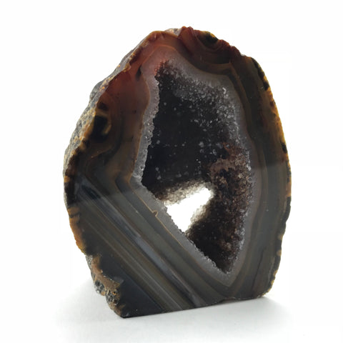 Banded Agate Geode From Brazil (.62 lbs)
