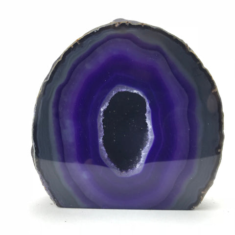 Banded Agate Geode From Brazil (2 lbs)